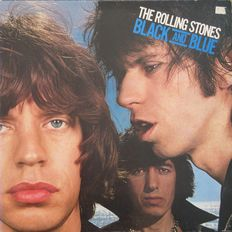 The Rolling Stones - A lot of 7 very nice 33 rpm records including one double album