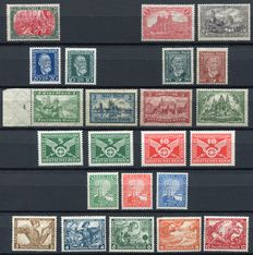 German Reich 1915/1933 - Selection semi-classics