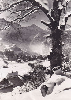 Unknown / ACME Newsphotos - 'Peaceful Wengen' - Switzerland - 1936