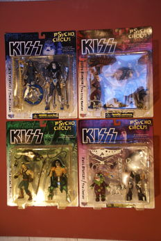 KISS Psycho Circus Action Figures