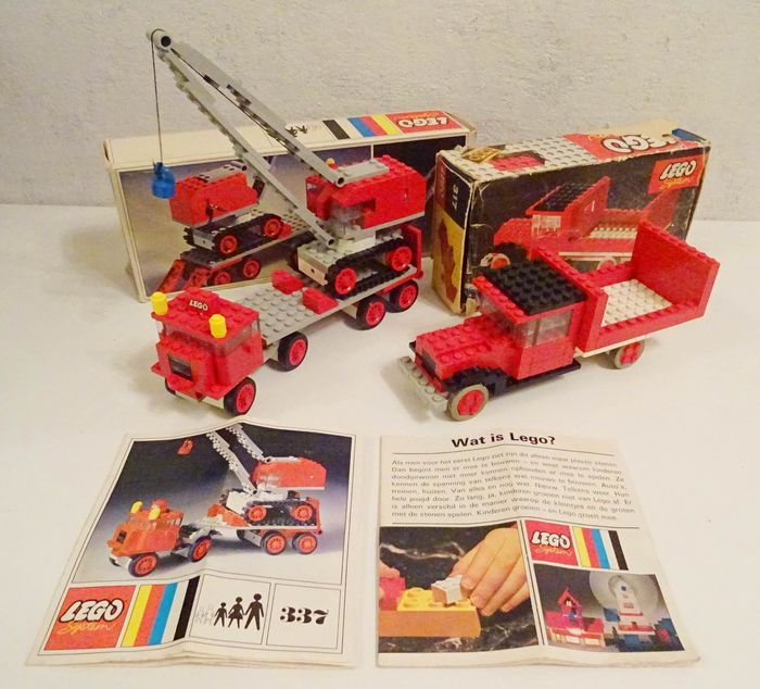 Classic - 317 + 337 - Truck + Truck with Crane and Caterpillar Track