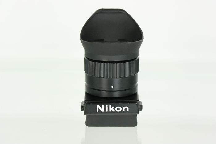 nikon dw4 loupe viewfinder for nikon f3 camera catawiki