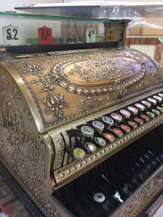 National brand cash register from 1900
