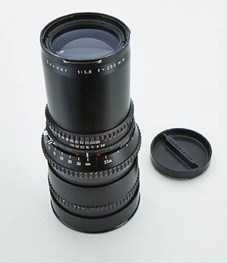 Hasselblad Carl Zeiss 250 mm F 5,6 Sonnar C T*