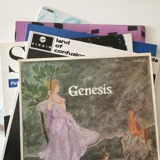 Genesis / Peter Gabriel - Phil Collection collection of 11 original records