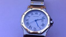 Cartier Santos Octagon – men's watch – 1990s