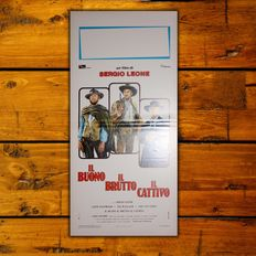 The Good the Bad and the Ugly - Original Italian movie poster - Size: 33x70 CM - Edition 70's