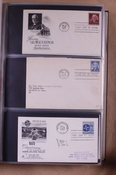 World 1937/1991 – batch of 492 First Day Covers in 4 albums