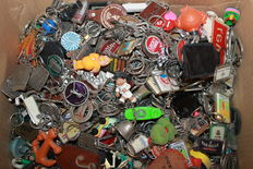 Lot of 13.5 kg of key rings - Between 1960 and now (2017)
