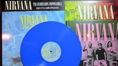 Nirvana: Great lot of 4LP's of which 1 on coloured vinyl + 3 limited editions! *