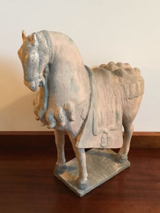 Terracotta Tang horse - China - mid to second half 20th Century