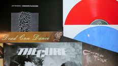 Joy Division / Dead Can Dance / Cocteau Twins / The Cure: Great batch of 4 NEW WAVE LP's, including 2 on coloured vinyl!