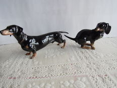 Rosenthal porcelain - 2 Dachshunds Germany/Selb