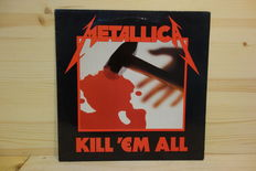 "Metallica - Lot of 3 albums and a 12"" single."