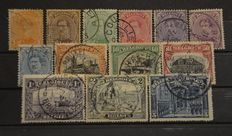 Belgium 1911/1951 - Selection of stamps and series between OBP 100 and 867