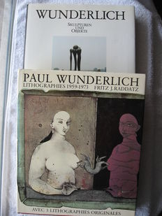 Paul Wunderlich; Lot with 2 publications - 1974 / 1988