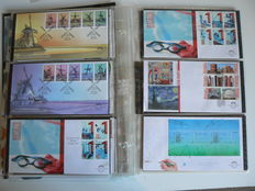 The Netherlands – First Day Covers, complete year series, 2011 and 2013