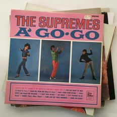 The Supremes / Diana Ross collection of 11 records from 1960s onwards