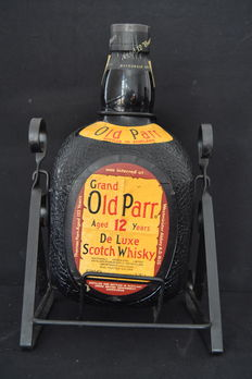 Grand Old Parr 12 years Scotch Whisky  3.75 L - iron support