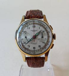 Chronograph Suisse - men's chronograph - from the 1950/60s