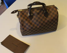 Bolso Speedy 30 de Louis Vuitton.