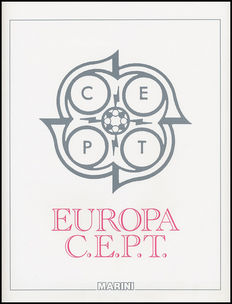 EUROPA CEPT 1956-1970 Collection on Marini sheets