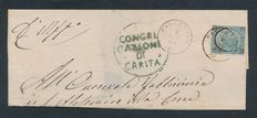 Kingdom of Italy – Lot of 30 stamped and mailed envelopes from the late 1800s/early 1900s.