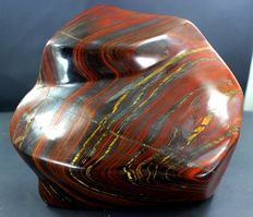 Self Standing Colorful Hand-polished Tiger's Eye free-form - 147*156*75mm - 3107gm