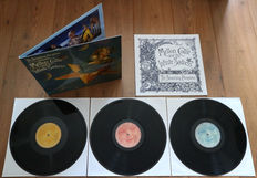 The Smashing Pumpkins ‎– Mellon Collie And The Infinite Sadness 3lp/ w. 12 page illustrated booklet/ Limited edition pressing in NEAR MINT condition!