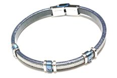 New bracelet by ESSENZA in 316L steel and diamonds.