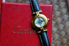 Cartier Vermeil – women's watch – 1990