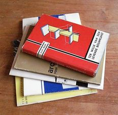 J.J.P. Oud - Lot with 5 books on architecture - 1960 / 1982