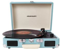 Crosley Cruiser Platenspeler Turquoise + Exclusieve Single Chuck Berry