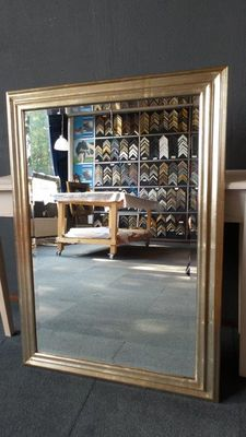 Large mirror with facet - Silver - Large frame