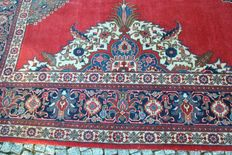 Beautiful Persian rug Tabriz  knotted by hand 300x400cm around 1970