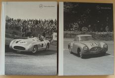 2 Exclusive Books on Mercedes-Benz 300 SL and 300 SLR racing sport cars