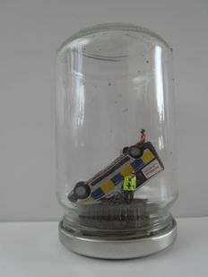 "James ""Jimmy"" Cauty -  Banksy Jam Jar scale model"