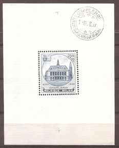 Belgium 1936 – Blocks Borgerhout and Charleroi – BL 5A and 6