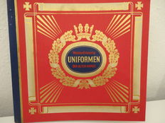 Uniform Book - Uniforms of the Old Army - 312 pages, complete