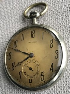 Moeris - Swiss made - pocket watch - 15 jewels - around 1910.