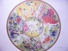 Marc Chagall (after) - Ceiling of the Paris Opera