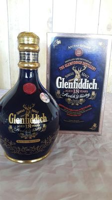 Glenfiddich 18 years old - blue decanter