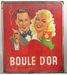 Boule d'Or emaille bord