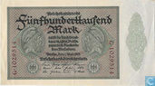Allemagne 500.000 Mark 1923 (P88a1)