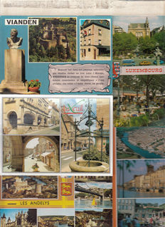Postcards from Europe, 2101x,(several images on each card)