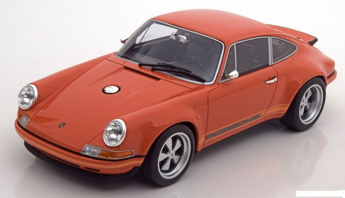 GT-Spirit - Scale 1/18 - Porsche 911 Singer - Limited 504 pcs - Colour orange