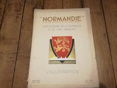 Album of June 1935 about the liner Normandie
