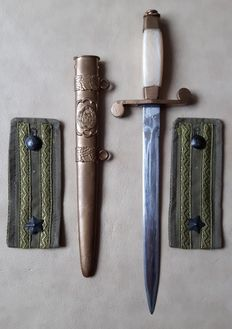 Dagger (officer dagger) of a High Officer of the Romanian Communist Army 1950-1960 - Ceausescu