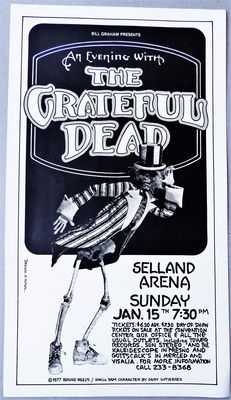 Dance Concert 1977 Grateful Dead USA