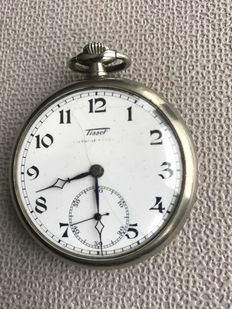 Tissot – open face – men's pocket watch - Switzerland – around 1930.